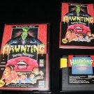 Haunting Starring Polterguy - Sega Genesis - Complete CIB - Rare