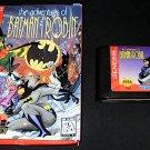 Adventures of Batman & Robin - Sega Genesis - With Box