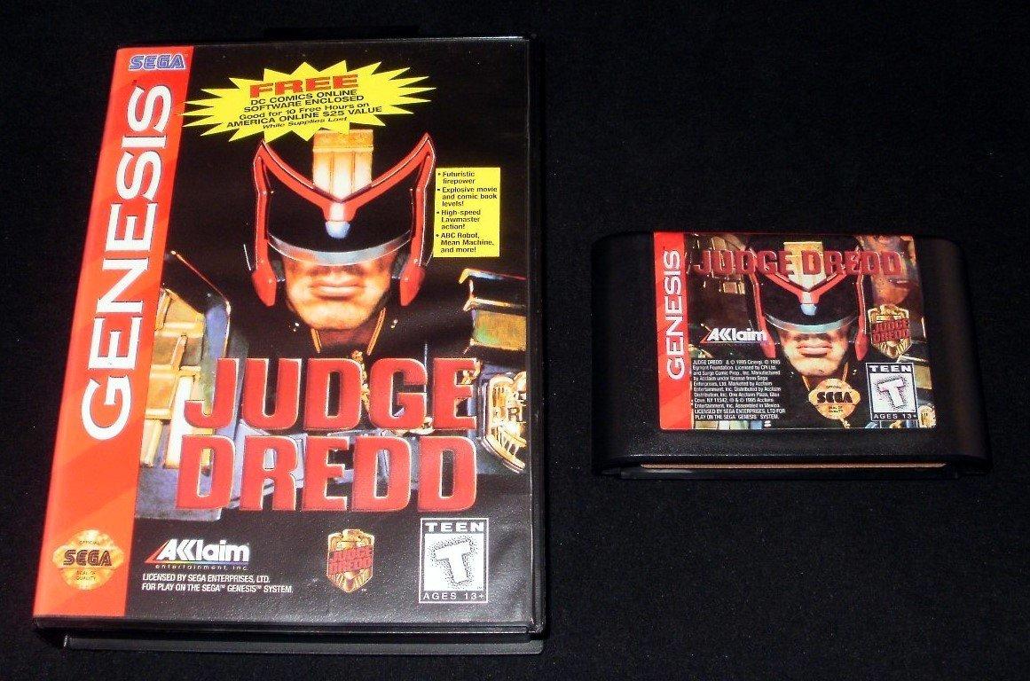 Judge Dredd - Sega Genesis - With Box