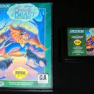 Beauty and the Beast Roar of the Beast - Sega Genesis - With Box