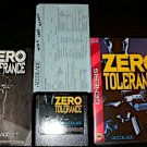 Zero Tolerance - Sega Genesis - Complete