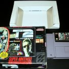 T2 The Arcade Game - SNES Super Nintendo - With Box