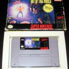 Out of This World - SNES Super Nintendo - With Box