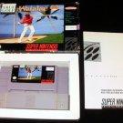 Waialae Country Club - SNES Super Nintendo - With Box