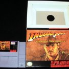 Indiana Jones' Greatest Adventures - SNES Super Nintendo - With Box