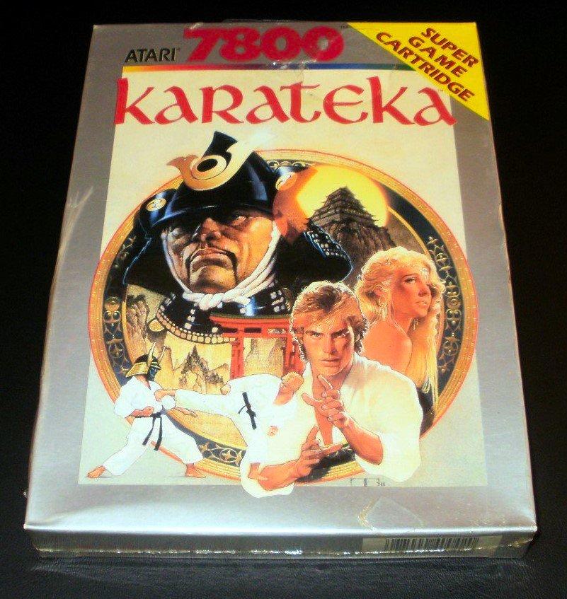 Karateka - Atari 7800 - Brand New Factory Sealed