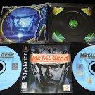 Metal Gear Solid - Sony PS1 - Complete CIB - Black Label 1998 Release