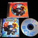 Digimon World 3 - Sony PS1 - Complete CIB - Rare Black Label Original Release