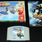 Wave Race 64 - N64 Nintendo - With Manual & Custom Case