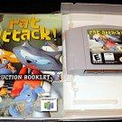 Rat Attack - N64 Nintendo - With Manual & Custom Case - Rare