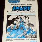 Smurf Rescue in Gargamel's Castle - ColecoVision - 1982 Manual Only