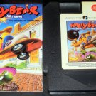 Wally Bear and the NO Gang - Nintendo NES - With Manual & Cartridge Sleeve - Rare