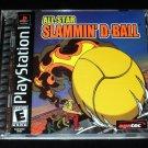 All Star Slammin DBall - Sony PS1 - Complete CIB