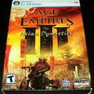 Age of Empires III Asian Dynasties Expansion Pack - 2007 Microsoft Game Studios - IBM PC - Complete