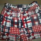 Patriotic Plaid Shorts