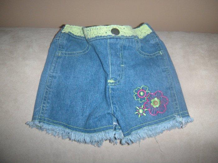 Baby Q Denim Cut-off Shorts