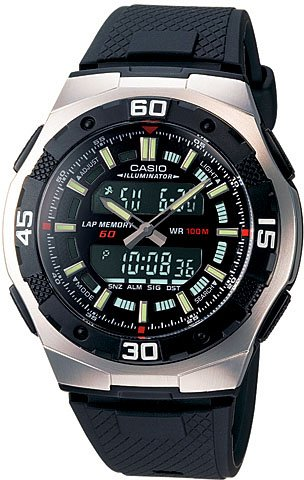 Casio Analog Digital Sports Watch AQ164W-1 New