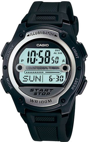 Casio Soccer Sport Gents Watch W756-1AV New 1 yr warr.