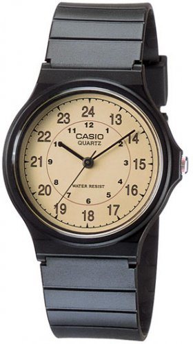 Casio Vintage Gold Color Analog Watch MQ24-9B NEW