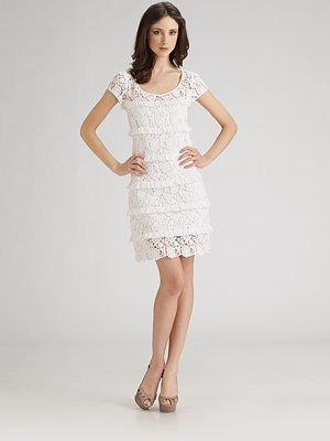 Diane Furstenberg Areclia Crochet Lace Dress NWT 4 $425