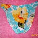 Pualani Tropical Print Bikini Bottoms