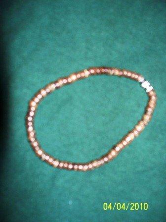 Wooden Bead Bracelet/Anklet