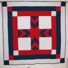 Red White and Blue Cross Quilt