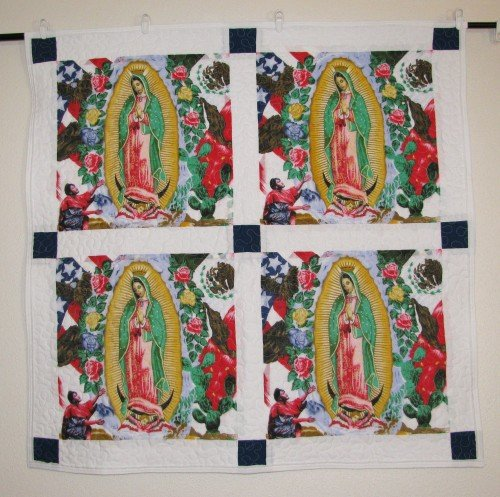 Guadalupe Baby Quilt