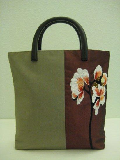 Duo Tone Silk Bag