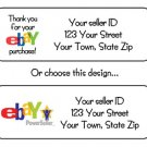 Personalized EBAY or Power Seller ADDRESS LABELS