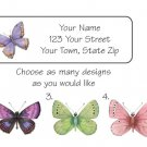 Personalized Beautiful BUTTERFLIES ADDRESS LABELS - New