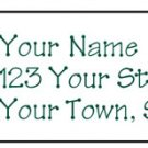 Personalized PINEAPPLE Family Name Address LABELS