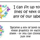 Personalized TINKER BELL TINK Designs Address LABELS