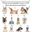 Personalized DOG BREEDS ADDRESS LABELS You Choose