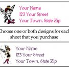 Personalized TEDDY BEAR OCCUPATIONS ADDRESS LABELS
