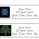 Personalized CELTIC DESIGNS ADDRESS LABELS - New - New