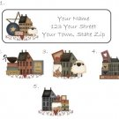 Personalized PRIM COLLECTION ADDRESS LABELS Bear Sheep