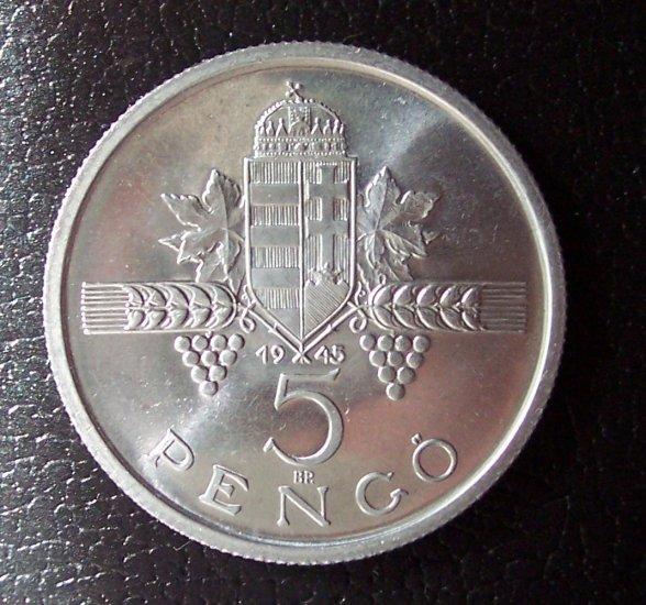 1945 5 pengo PROBAVERET