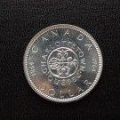 1964 1 silver dollar Canada UNC