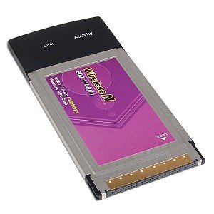 300Mbps 802.11n MIMO Wireless LAN CardBus PCMCIA Adapter