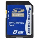 Super Talent 8GB SDHC Memory Card