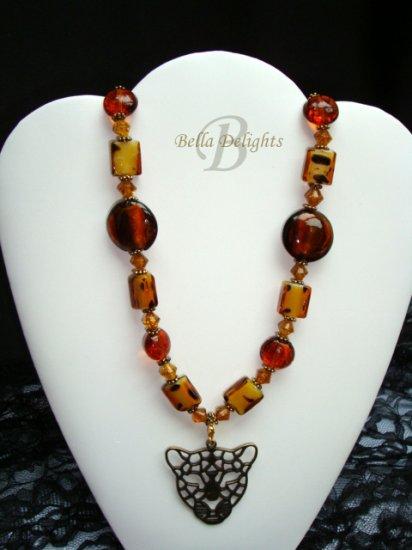Leopard Pizazz Necklace