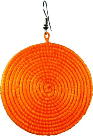 Orange Agaseke jewellery