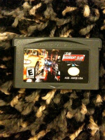 Midnight Club Racing Game Boy Advance (GBA SP)