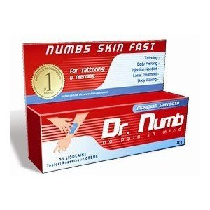 Dr Numb Tattoo Piercing Hair Removal Numbing Cream