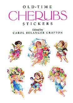 Old-Time Cherubs Stickers Book