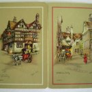 Vintage Swap Cards English Village Scenes Signed