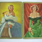 Vintage Madame du Barry and Nell Gwyn Swap Cards