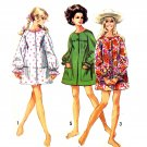 Sassy Mod 69 Beach Cover Up Simplicity 8276 Vintage Sewing Pattern Size Small