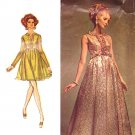 Mod Couture '69 Evening Gown Simplicity Designer Fashion Vintage Sewing Pattern 8497 Bust 34